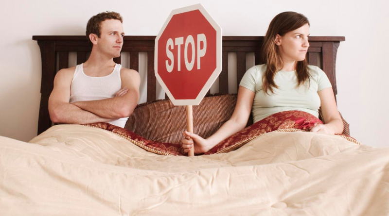 Our Sex Life Used to Be Great, Then We Got a Stop Sign